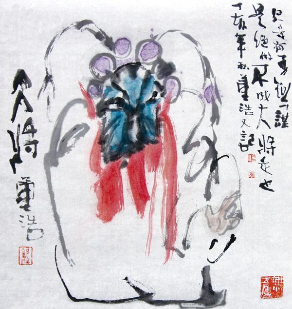 京剧人物之四